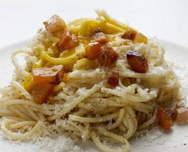 Ricetta spaghetti alla carbonara ricette laziali for Ricette regionali