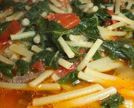 Ricetta pasta con i tenerumi ricette sicule ricette for Ricette regionali
